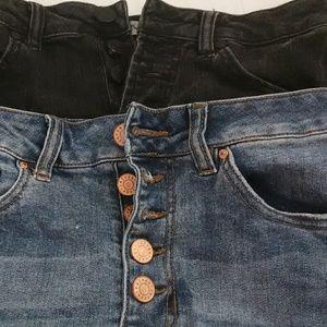 2 pair of Refuge Destressed Shorts